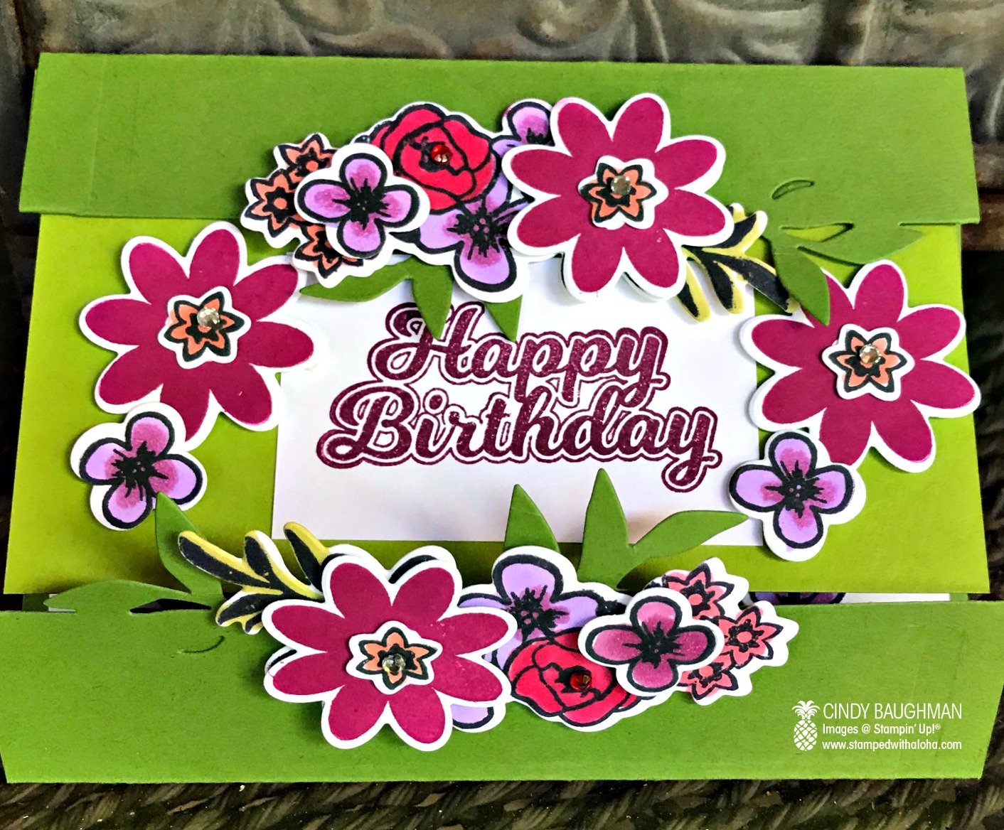 Bouquet Blooms Card