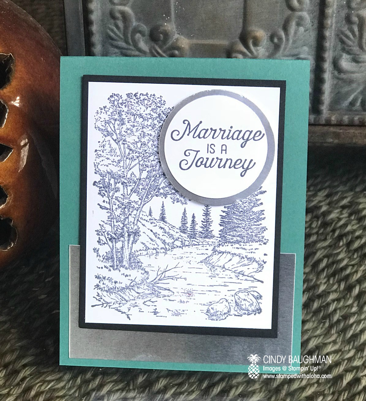Peaceful Place Anniversary Card