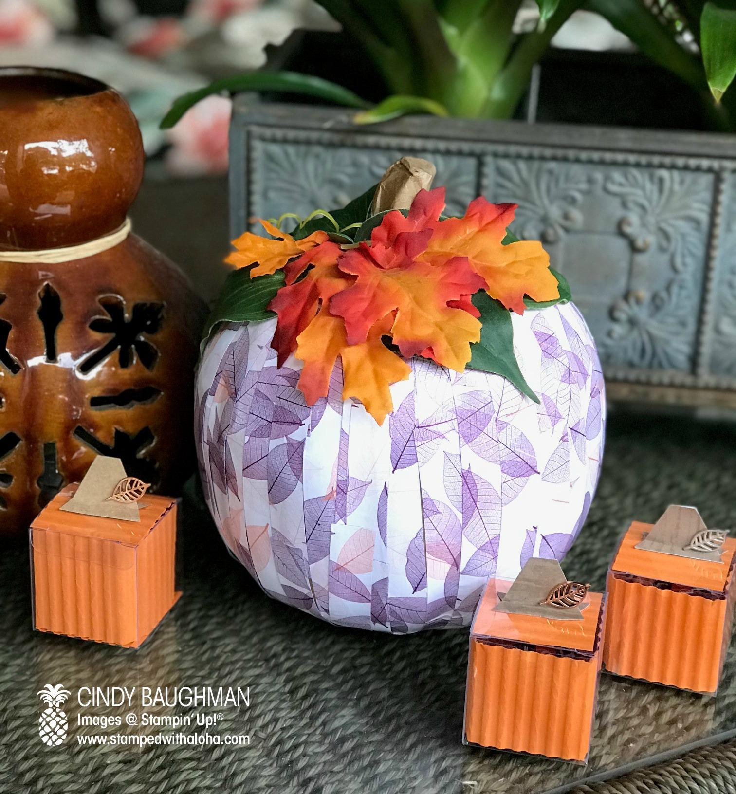 Pumpkin Bunco Favors