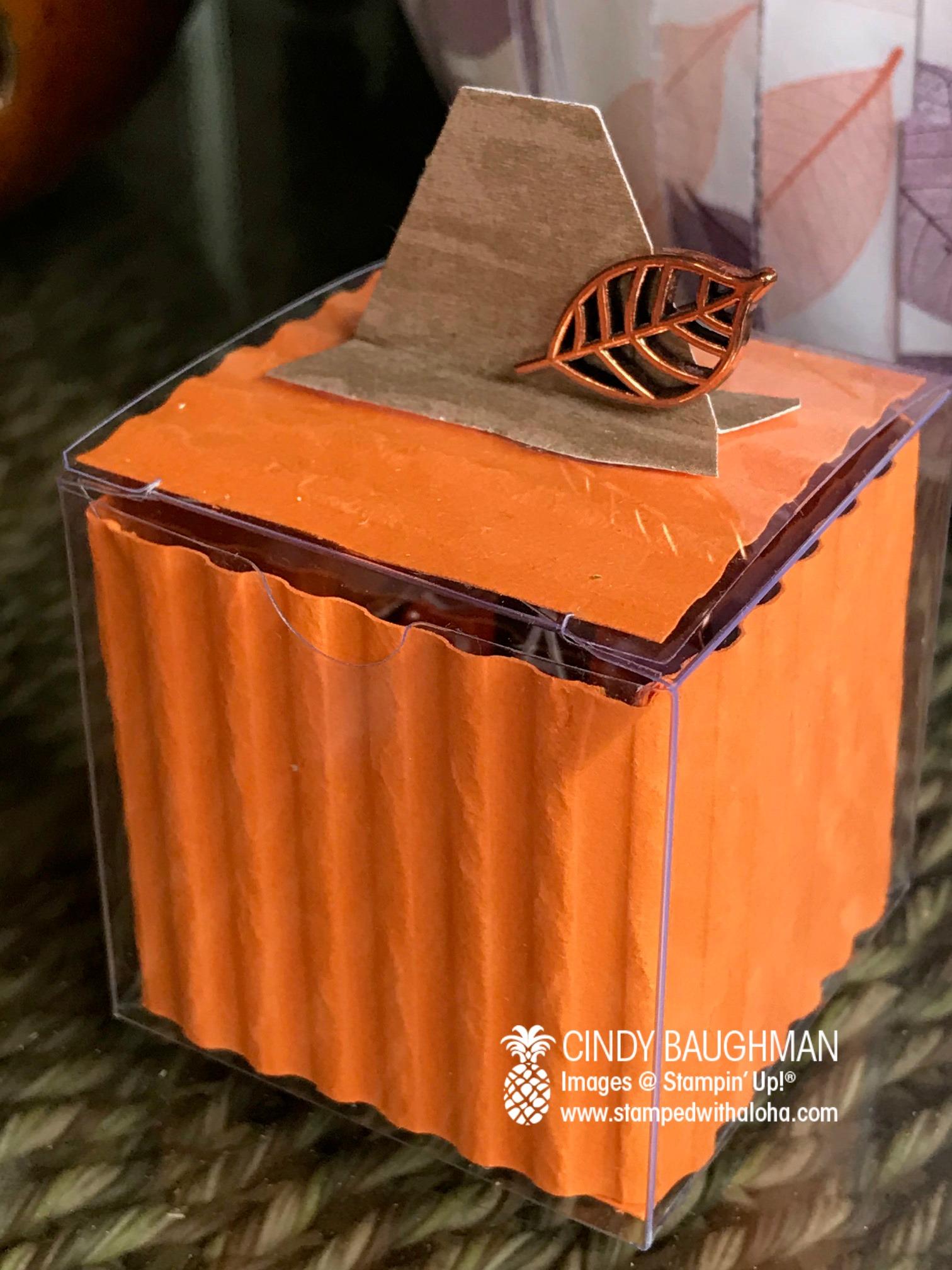 Pumpkin Treat Box Favors