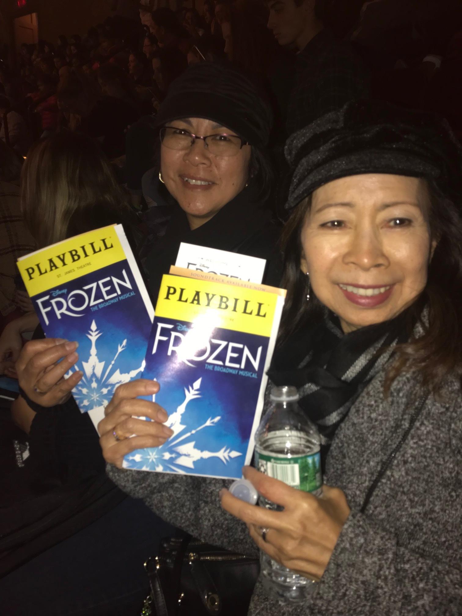Teresa and Zeny at Frozen