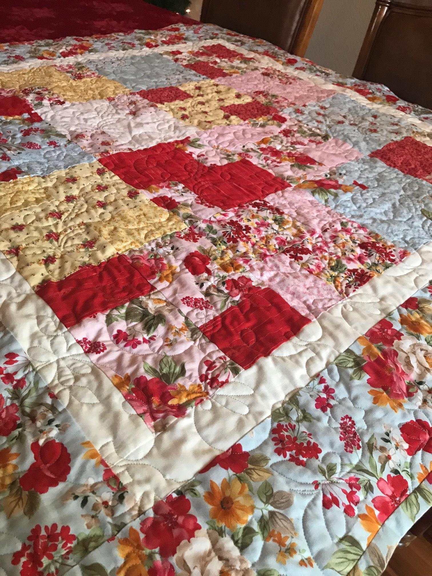 Nanny's Garden Quilt
