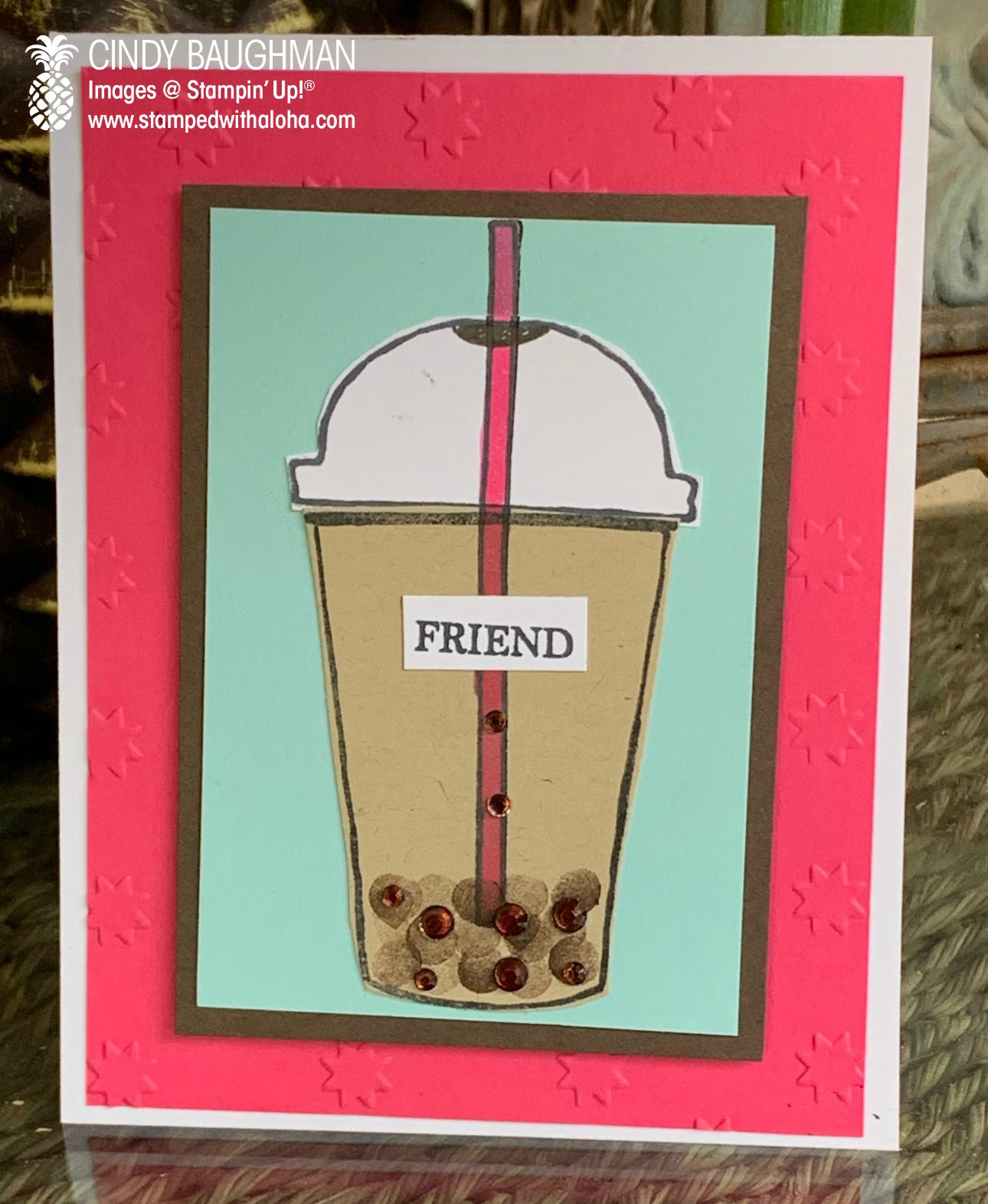 Boba Tea Card