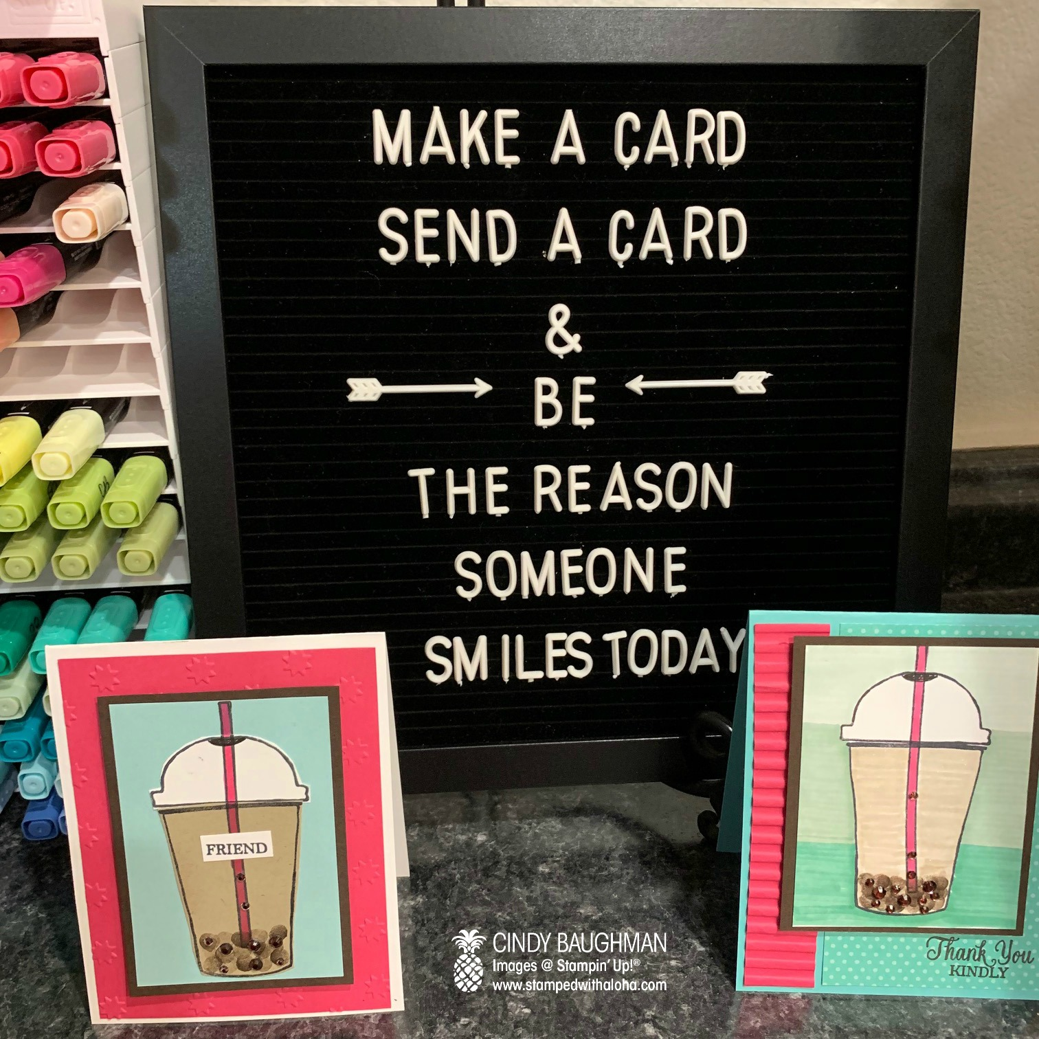 Boba Tea Cards