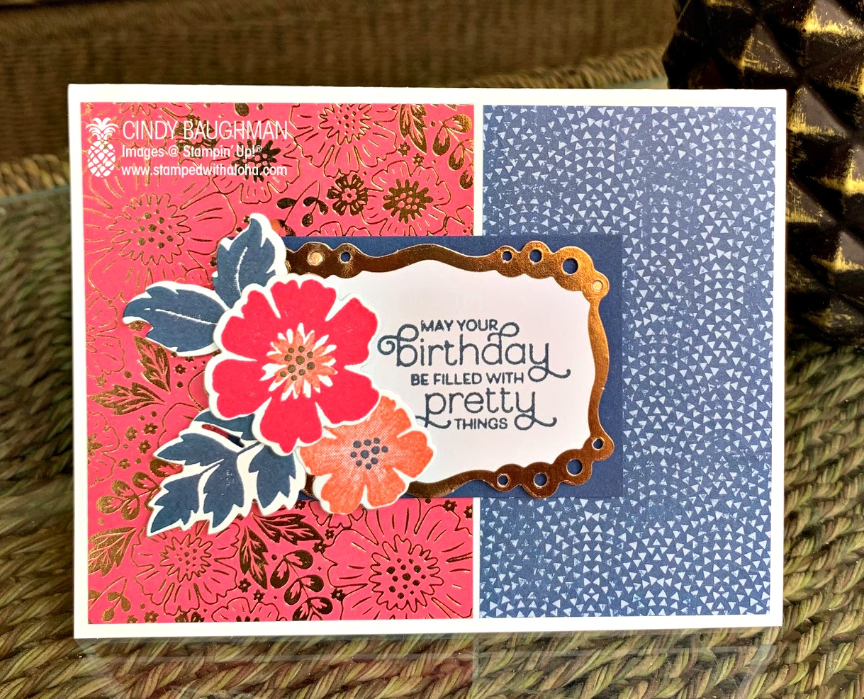 Everything is Rosy Birthday Card