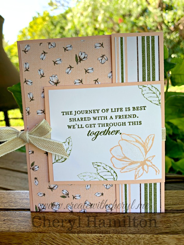 Magnolia Lane Fancy Fold Card