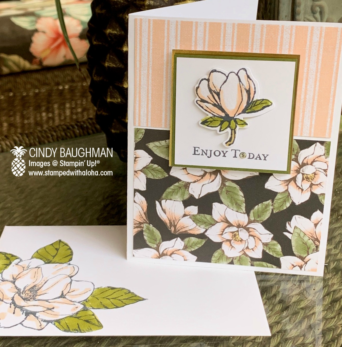 Magnolia Lane Card and Envelope
