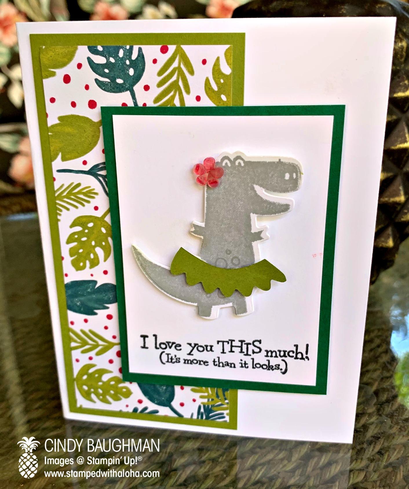 Dino Days - Hula Dinosaur