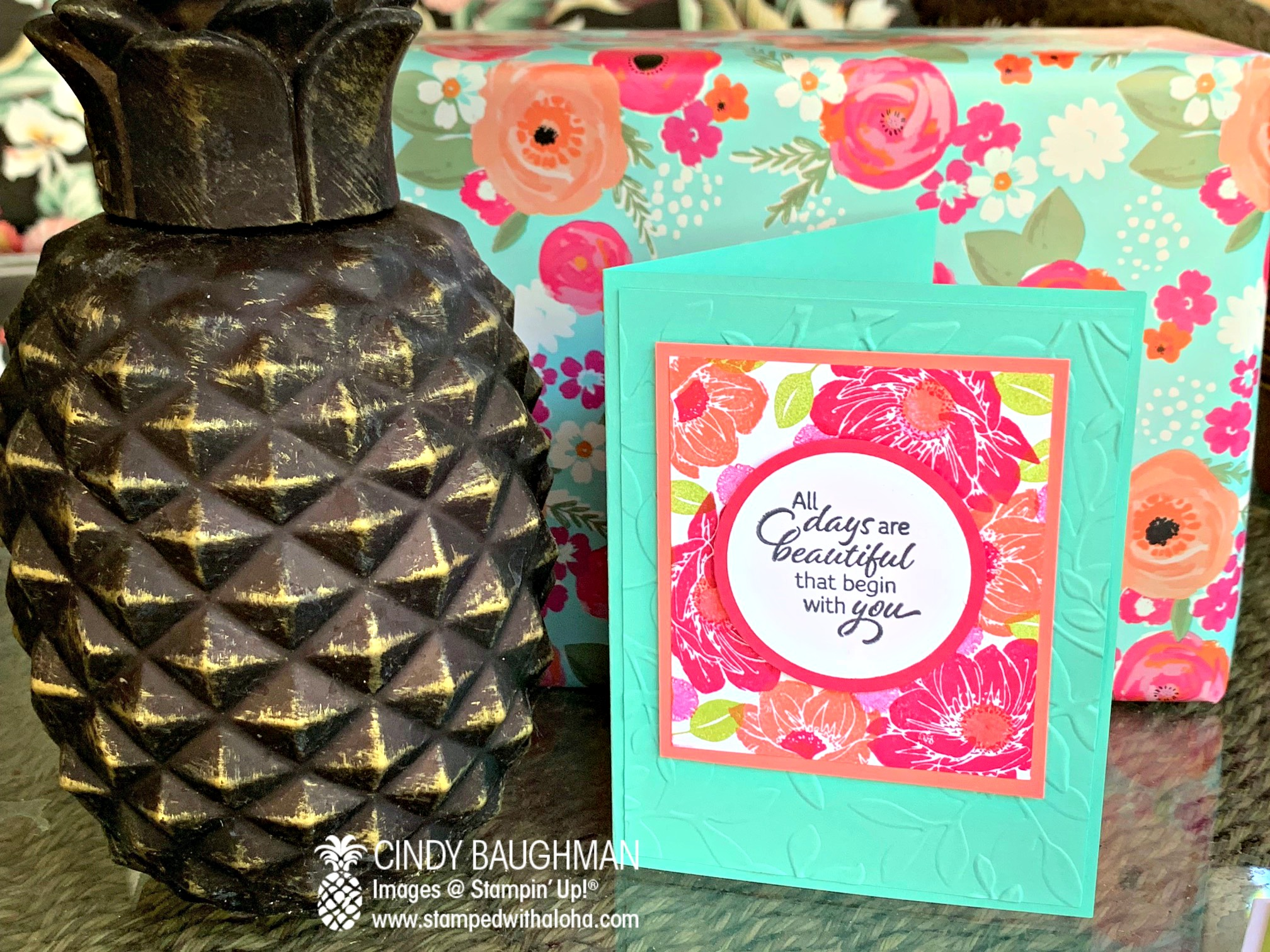 Floral Essence Card