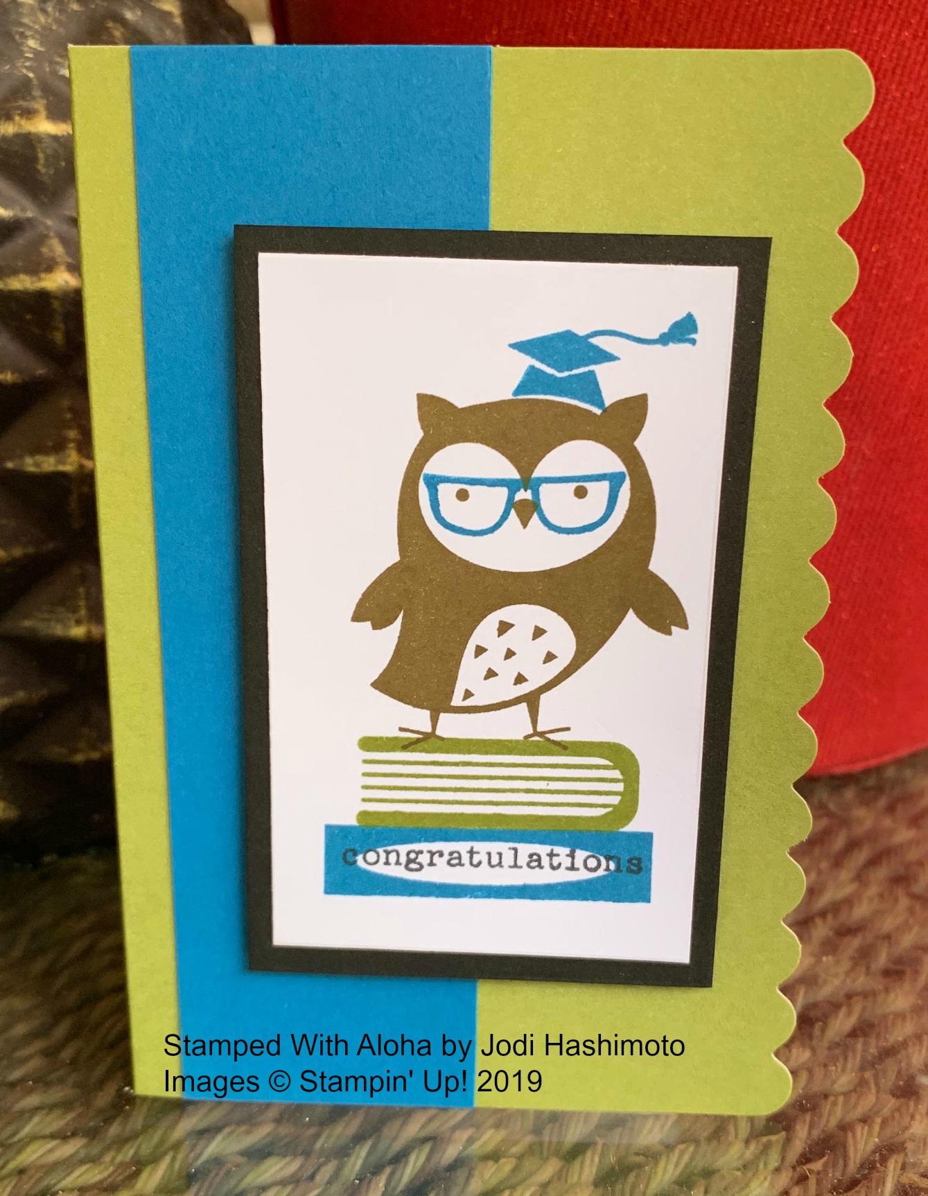 Check You Out Congrats Card