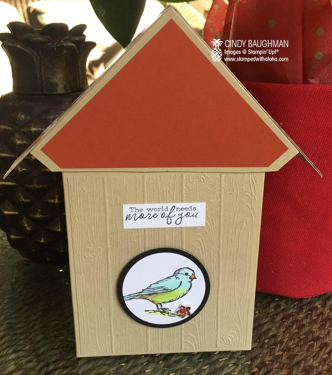 Bird Ballad Card Box