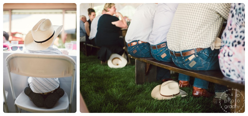 Some real Montana folks attending this wedding. :)