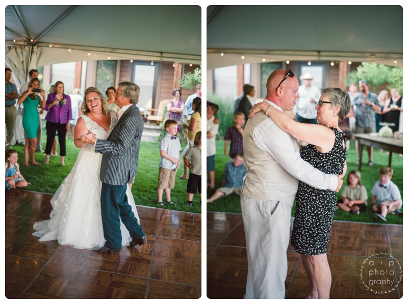 Father-daughter and Mother-son dances. <3