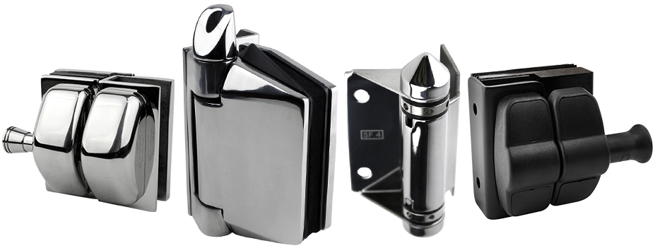 Polaris soft close hinges and master range hardware