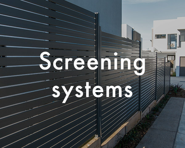 Screening systems