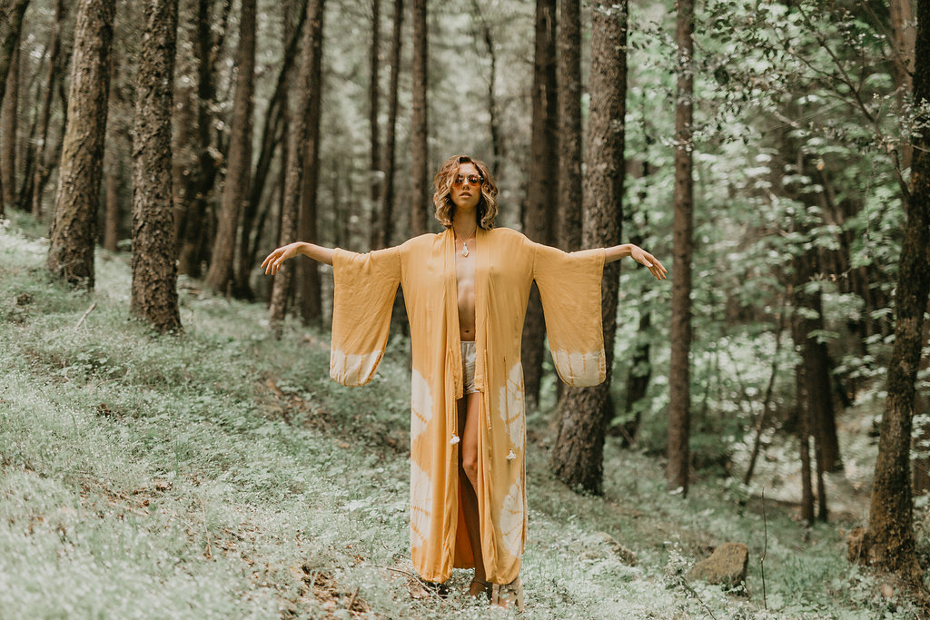 ENCHANTED FOREST Photography by Alyssa Keys Photography | model Sage Mariah | You Bet, CA