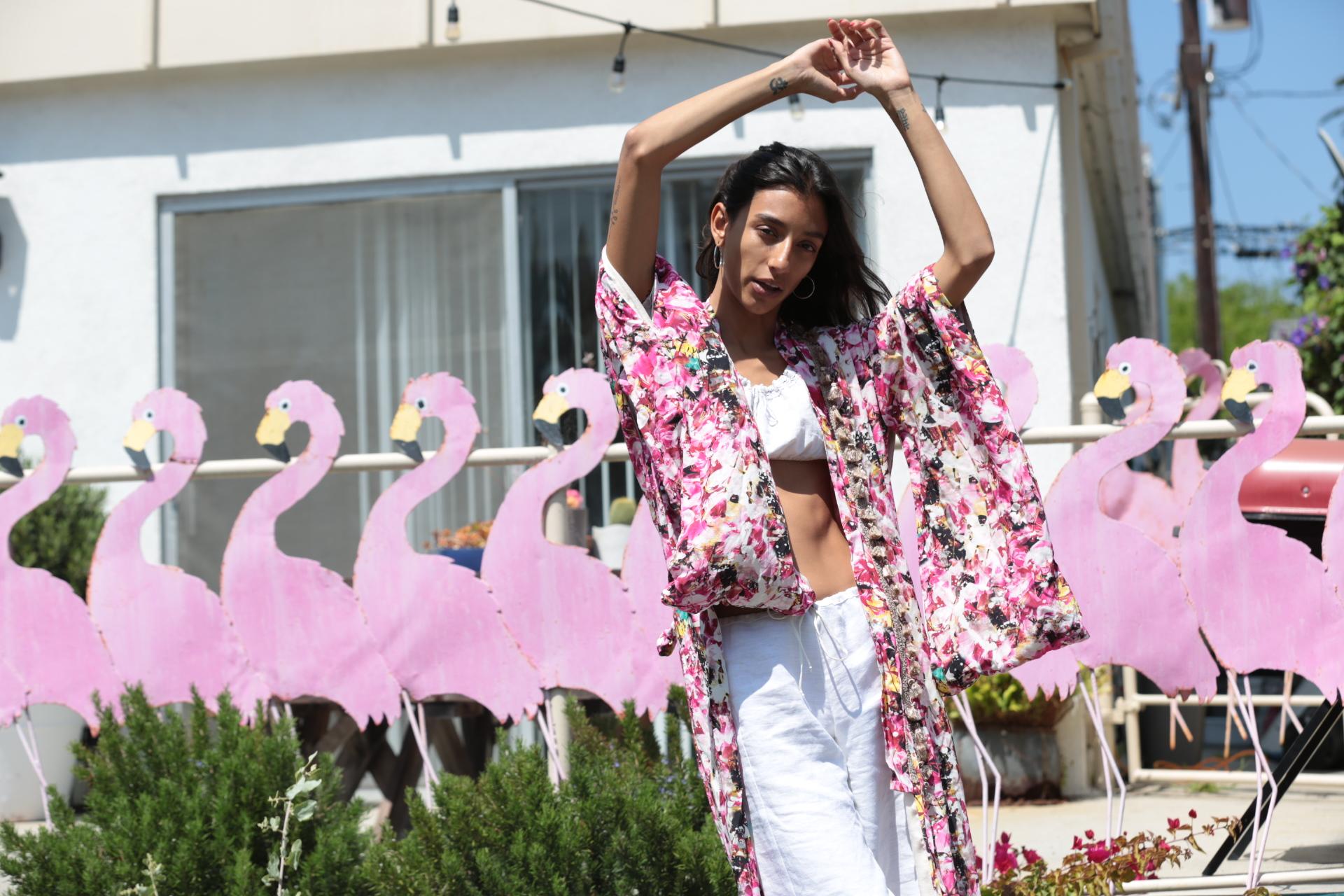 VENICE LALA | Photography by Jihanne Tatanaki | model, Hayley Ashton | Venice Beach CA