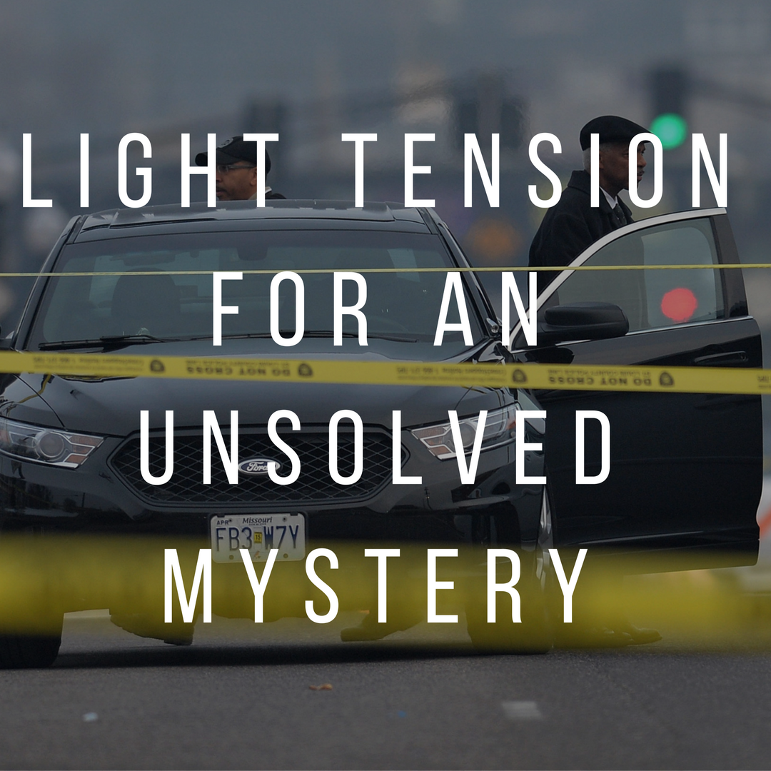 Light Tension For An Unsolved Mystery