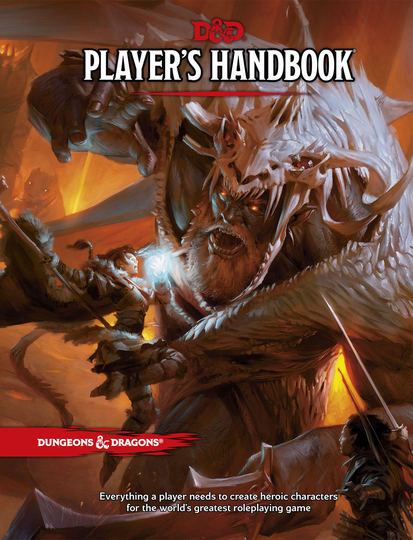 Dungeons & Dragons 5e Players Handbook Wizards of the Coast 2014