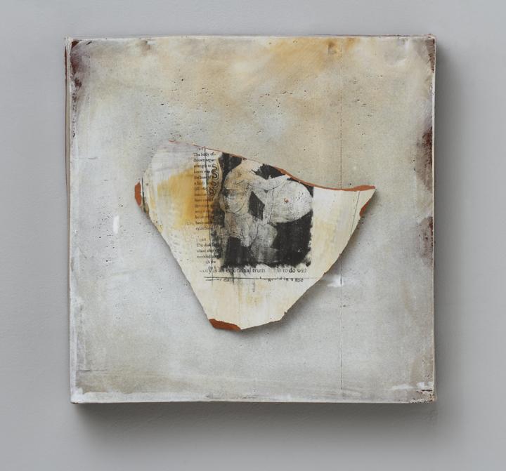 "Findings/ #013, 13""x13""x4"", 2012"