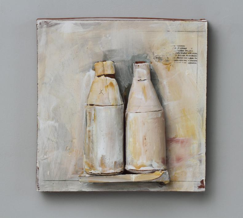 "Findings/#019, 13""x13""x4"", 2012"