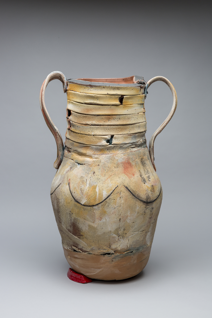 "Trophy: Grace (Hartigan), 30""x24"" diameter, 2017"
