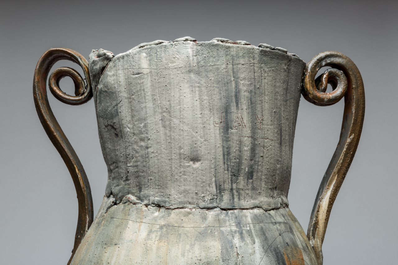"(Detail) Trophy: Jay (DeFeo), 32""x28"" diameter, 2017"