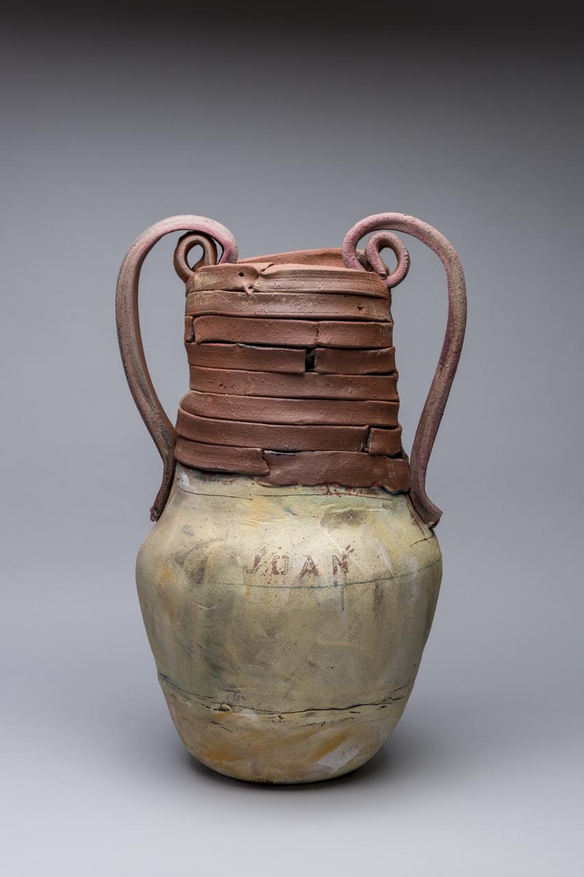 "Trophy: Joan (Mitchell), 28""x24"" diameter, 2017"
