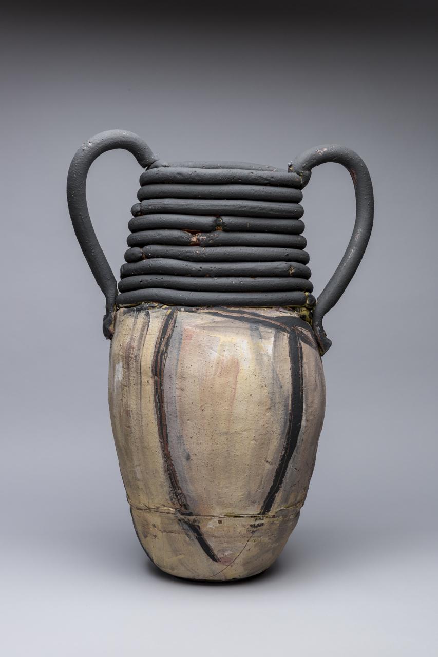 "Trophy: Lee (Krasner), 29""x25"" diameter, 2017"