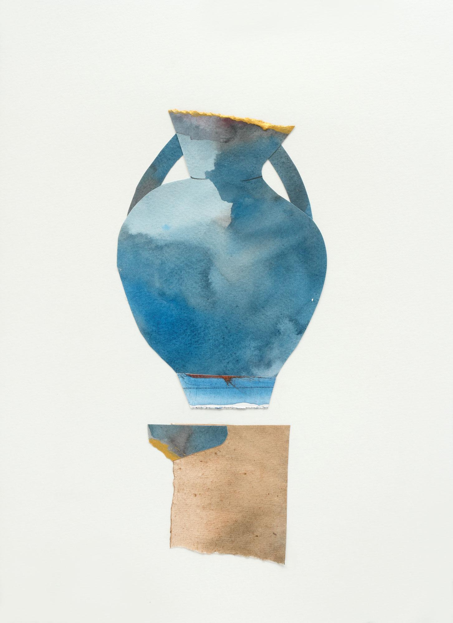 "Large Jar, 9"" x 13"", 2017"