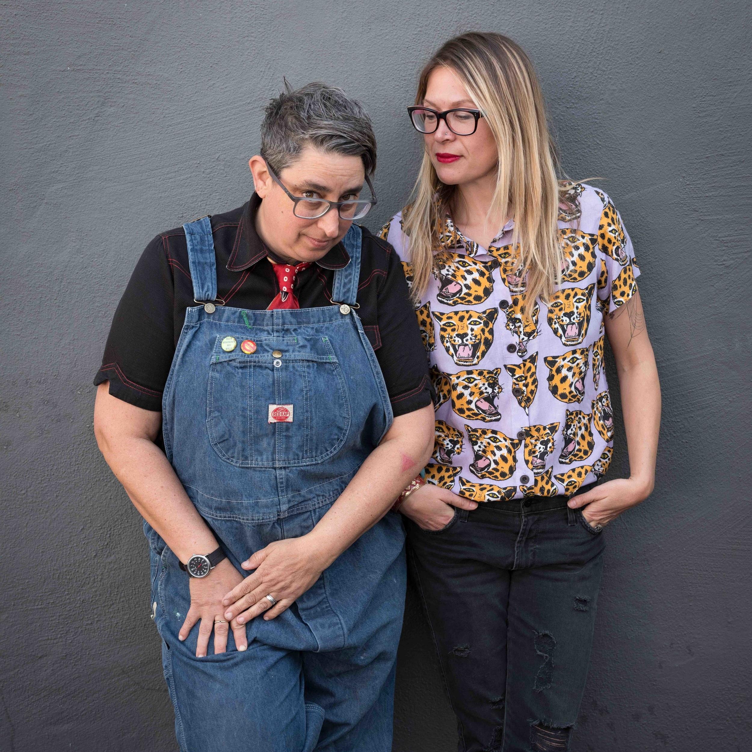 Miriam Klein Stahl and Kate Schatz  Photo by: Casey Orr