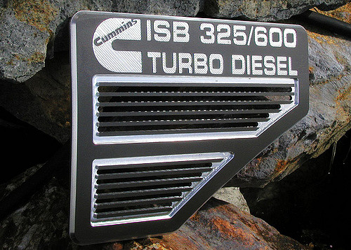 Cummins ISB 325_600 Turbo Diesel