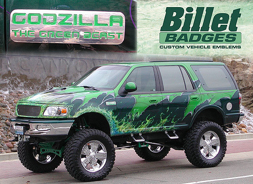 Godzilla The Green Beast