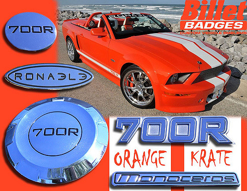 Orange Krate Ronaele 700R Mustang