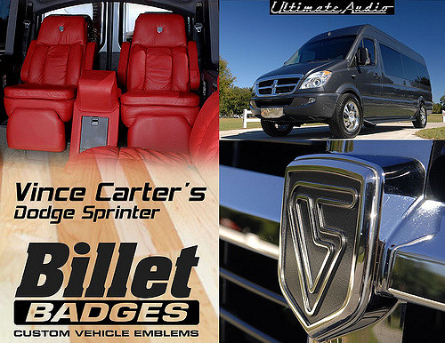 Vince Carter Dodge Sprinter Van