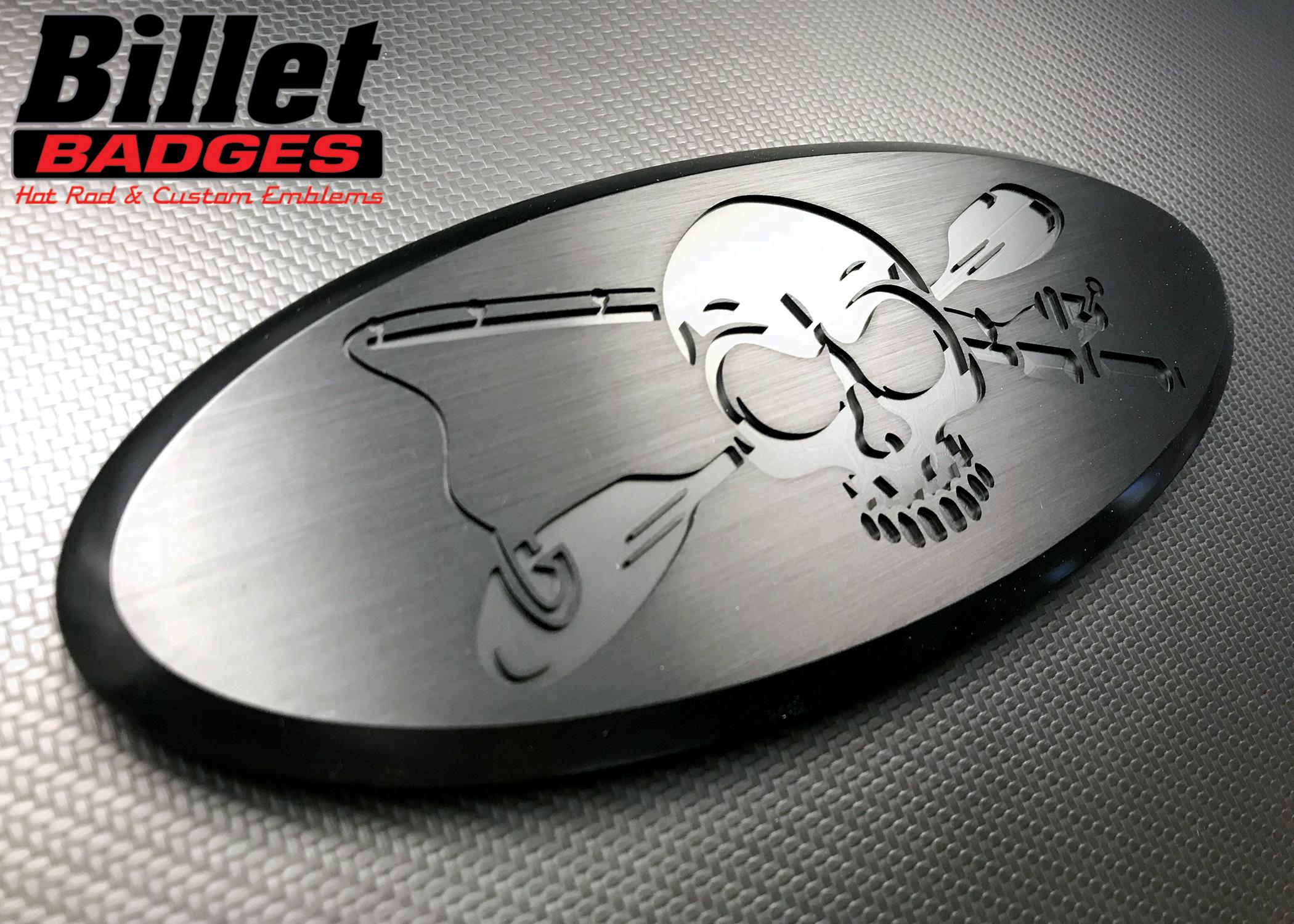 Jolly Roger Fishing Skull