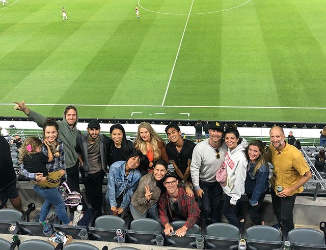 #LAFC BV family outing last night - let's run it back soon! 🏳️🥁⚽️🏴
