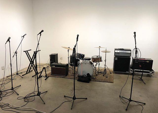 BV office turned rehearsal space. #thedrakes this Saturday at the world famous #cocknbull