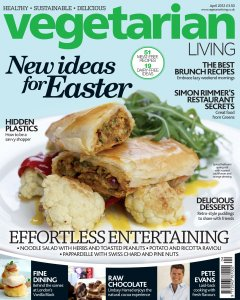 Vegetarian Living - April 2012  Raw Chocolate Feature