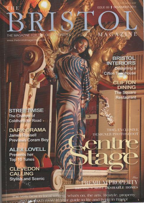 The Bristol Magazine - November 2011  Raw Chocolate Feature