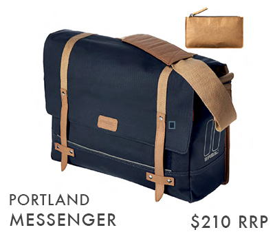 PORTLAND MESSENGER BLUE (ALSO AVAILABLE IN RED & CREME)