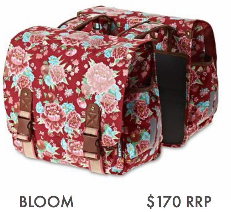BASIL BLOOM – DOUBLE BAG, SCARLET