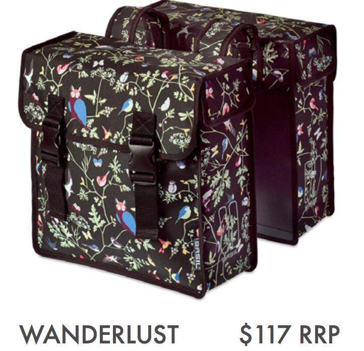 BASIL WANDERLUST – DOUBLE BAG, CHARCOAL