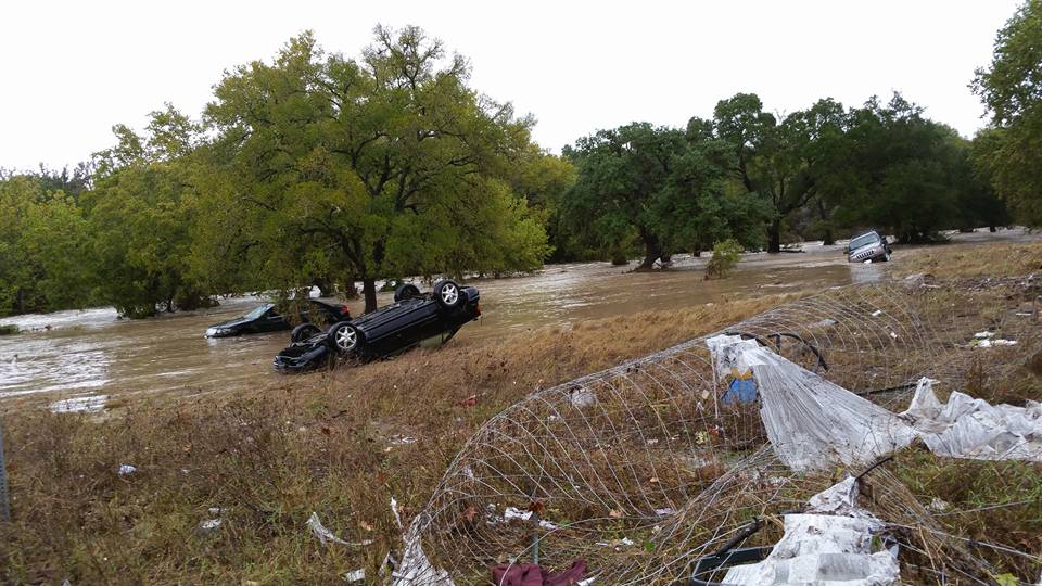 Flooding in Wimberley is reported to be more extensive than the Memorial Day Flood.