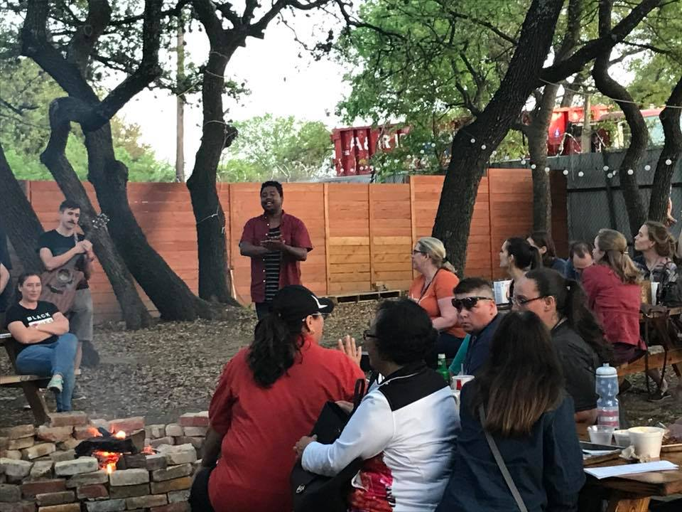 "St. Mark UMC and Servant Church joined together in Austin for a new event called ""Holy Smokes."""