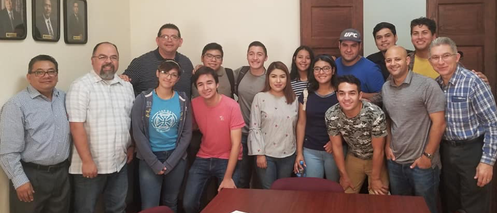 Rev. Dr. Robert Lopez had an opportunity to meet with seminary students and learn about their ministries near Monterrey, Mexico
