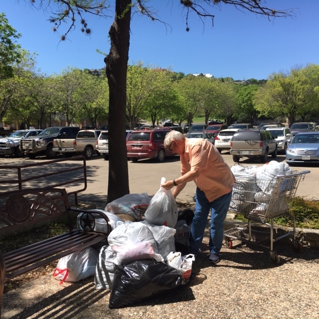Hill Country District Used Clothing Drive 08.JPG