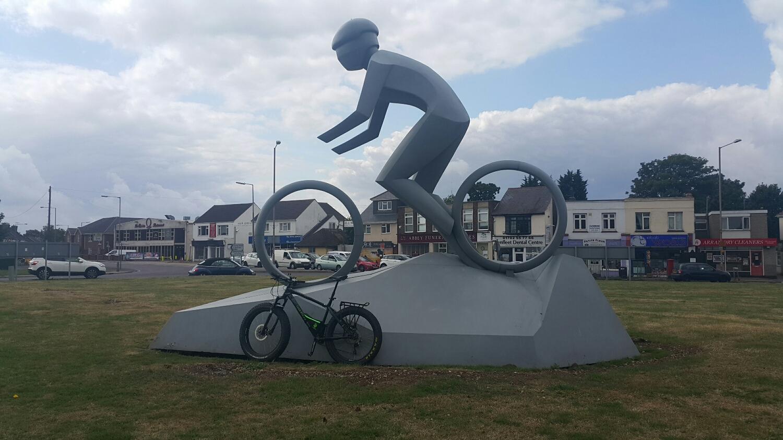 The Olympic bike