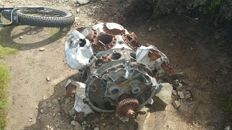 Missing engine photo