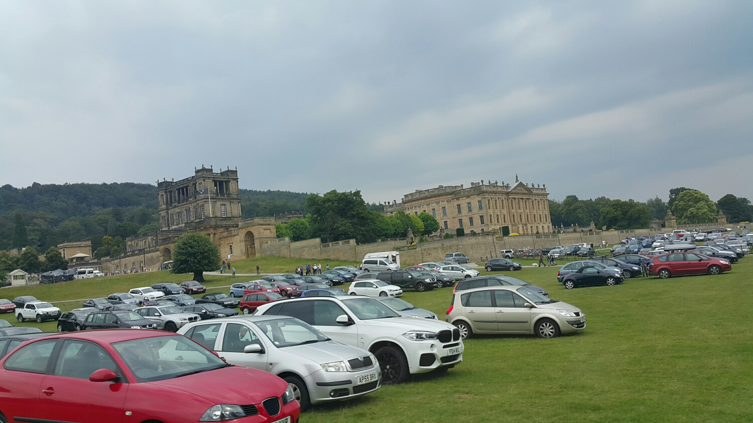 A major tourist attraction Chatsworth house